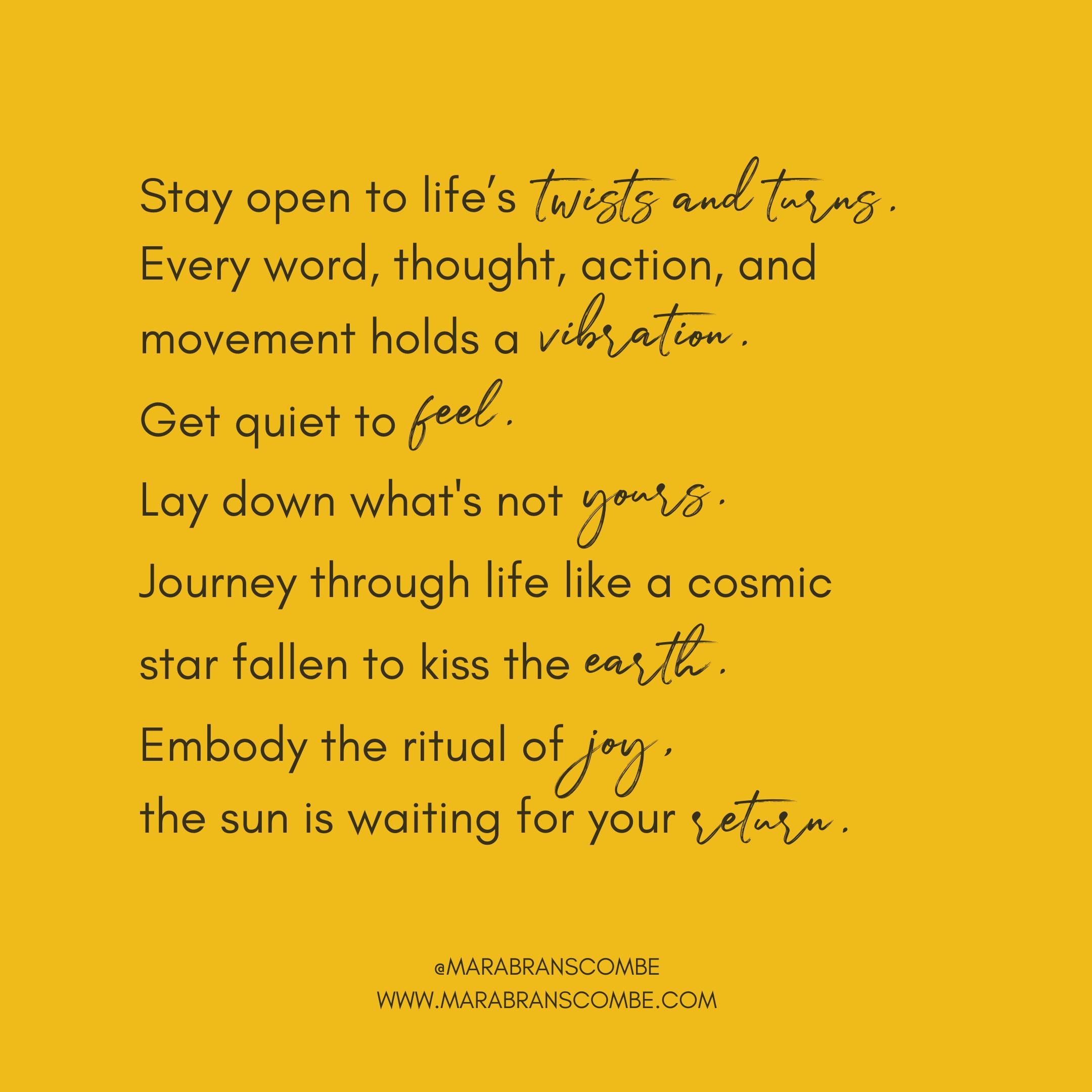 Mara Branscombe Poetry